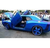 Candy Blue/Purple Dodge Challenger SRT8 Supercharged On