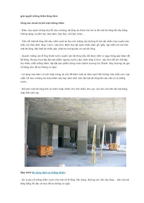 Youtu Bi C Thm V Lng | dịch vụ chống thấm tầng hầm uy t 237 n chất lượng tại tphcm