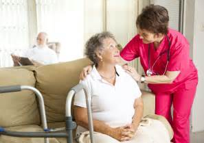 hospice care at home between nursing home residents should the