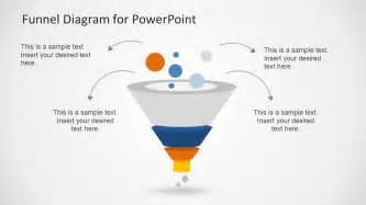 Funnel Diagram Powerpoint Template by Creative Funnel Diagram Template For Powerpoint Slidemodel