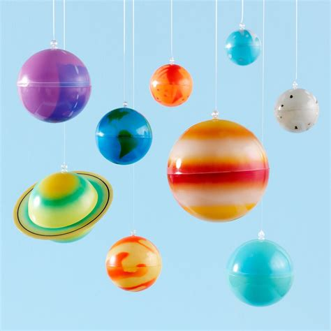 Hanging Planets Decorations smiles solar system mobile