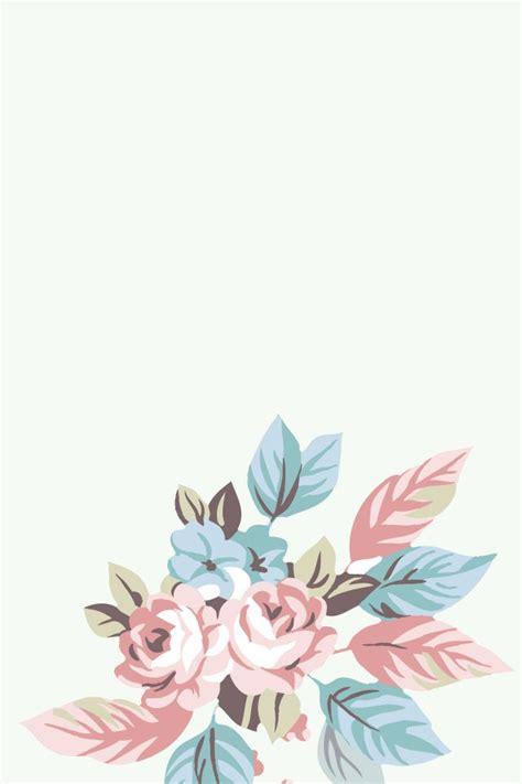Minimal Minimal Basic Offwhite 花のイラスト iphone壁紙ギャラリー