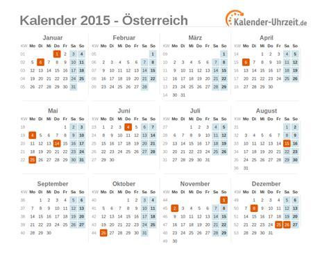 Kalender 2015 Mit Feiertagen Feiertage 2015 214 Sterreich Kalender 220 Bersicht