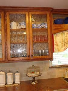 Kitchen Cabinets With Frosted Glass Doors Home Is Where The Heart Is Seeded Glass In The Kitchen
