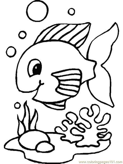 happy fish coloring page coloring pages happy fish animals gt fishes free