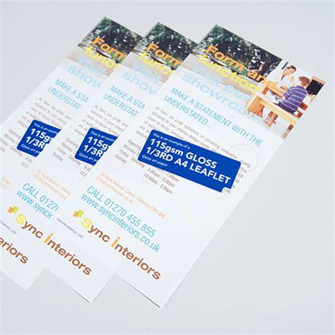 leaflet design glasgow leaflets printing com glasgow print design specialist