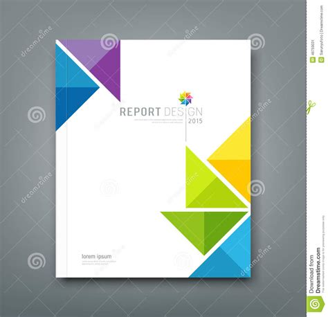 7 best images of annual report cover template annual