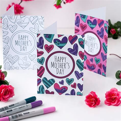 Clark Mothers Day Card Templates by Free S Day Card Printable Template