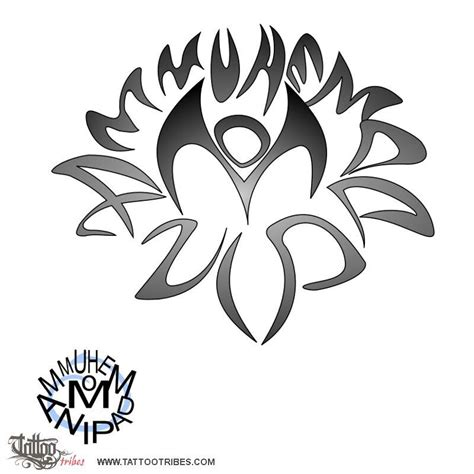 om mani padme hum tattoo designs om padme hum lotus flower tattoos tattoos and more
