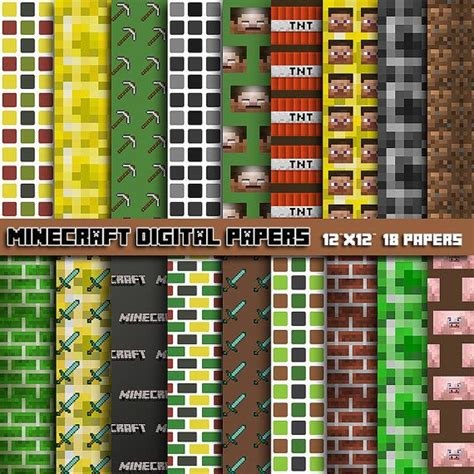 free printable minecraft wrapping paper minecraft wrapping paper download free minecraft auto