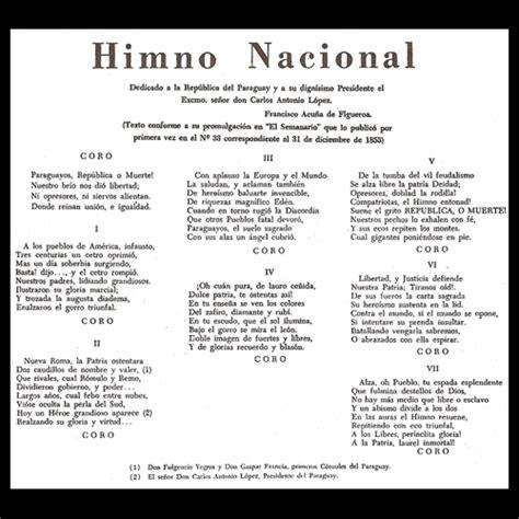 himno pascua 2016 nuvel estatal paraguay way cantar el himno nacional ser 225 nuevamente