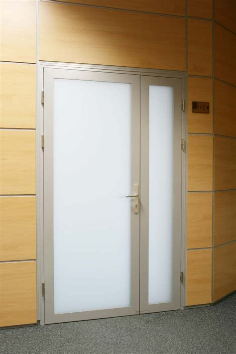 Frosted Interior Door by Beautiful Aluminium Interior Door With White Frosted Glass