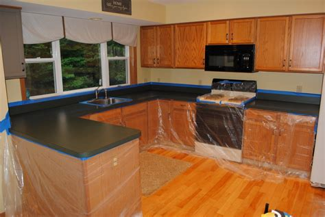 Kitchen Countertop Transformations by Kitchen Countertop Reveal Using The Rust Oluem Countertop