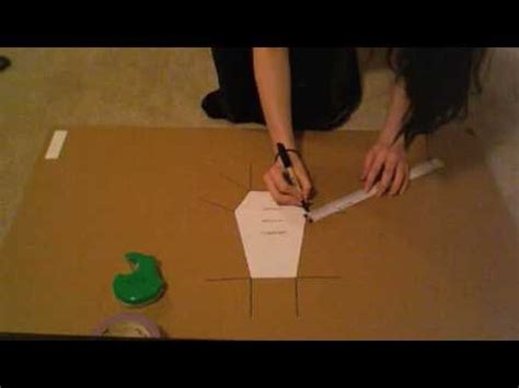 How To Make A Paper Coffin - how to make a coffin purse part 1 of 2
