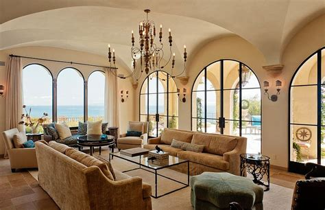 Dining Room Color Scheme Ideas by Luxurious Tuscan Style Malibu Villa By Paul Brant Williger