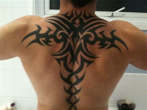 tattoo back tribal tribal back tattoos for men