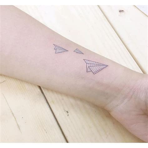 tattoo paper in stores 13 best paper plane tattoo images on pinterest small