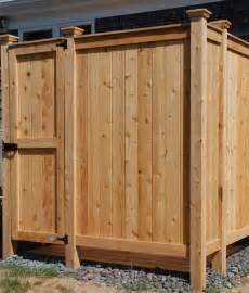 outdoor shower custom designs cedar kit ny nj
