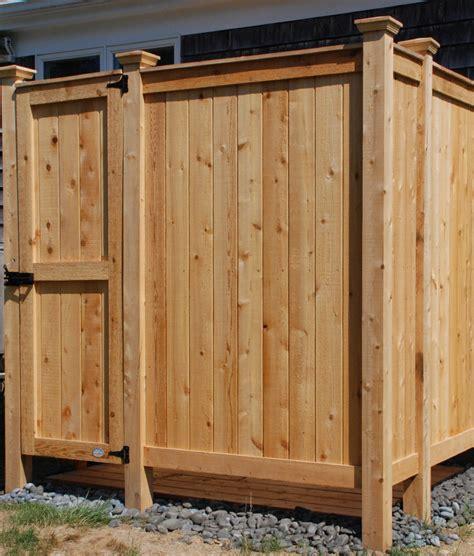 outdoor showers kits outdoor shower custom designs cedar kit ny nj
