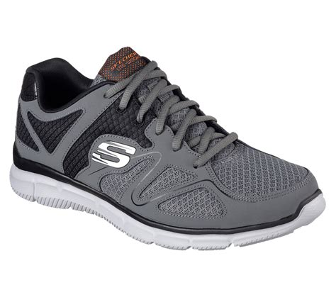 skechers comfort construction buy skechers satisfaction flash point sport shoes only