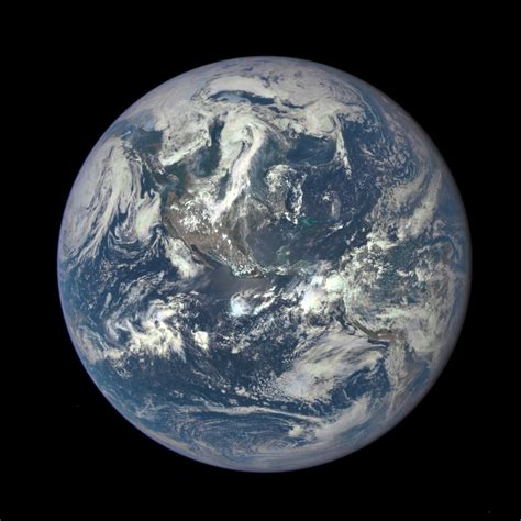 the entire world the whole earth nasa releases its first unstitched image