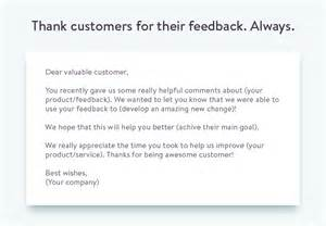 Feedback Letter Template The Proper Way To Ask For Customer Feedback