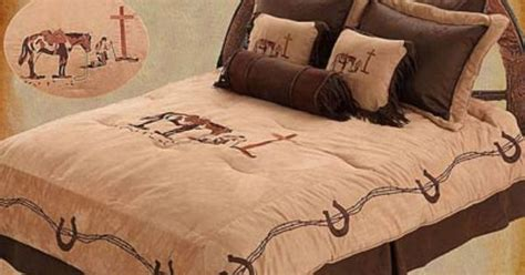 praying cowboy comforter praying cowboy comforter sets western bedroom