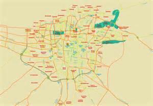 teran map city map
