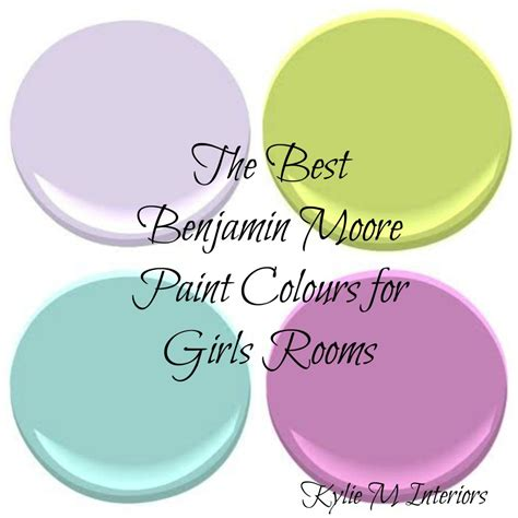 best color for girls the best benjamin moore paint colours for a girls room