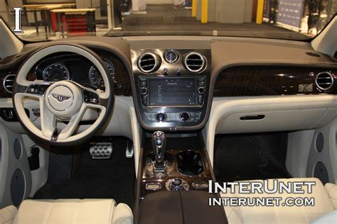 bentley 2017 interior 2017 bentley bentayga interunet