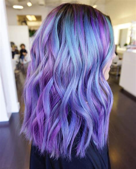black n purple hair the luscious curlbombs purple and пастельные цвета волос которые очаруют любого
