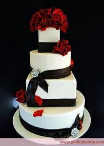 red white black wedding cakes for fall wedding ideas pinterest different shapes wedding