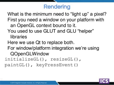 qt keypressevent tutorial opengl fixed function to shaders porting a fixed