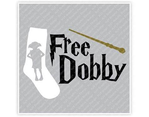 harry potter dobby gratis calcetin varita ilustracion