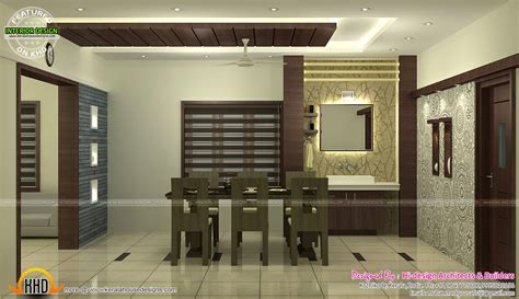 kitchen and dining interior design interior bed room living room dining kitchen kerala
