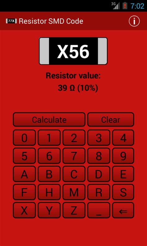 smd resistor code 511 resistor smd code calculator android apps on play