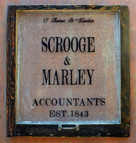 scrooge  marley sign google search christmas carol pinterest plays signs   cool