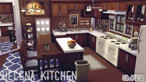 Helena Kitchen By Alwayolive At Simkea 187 Sims 4 Updates