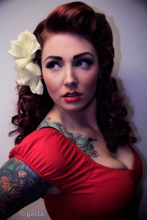 pictures of hairstyles pinned pinned up with a little bit down 199 best images about pin up girl hair on pinterest
