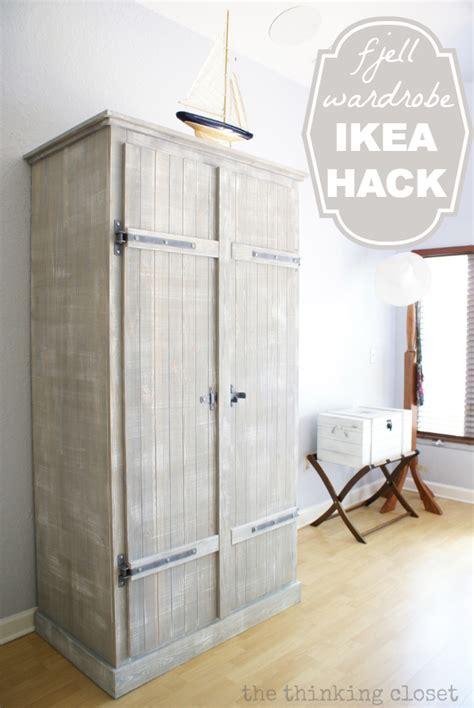 ikea diy wardrobe someday crafts fjell wardrobe ikea hack