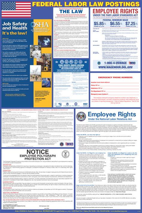 printable federal labor laws poster federal payday notice poster in in bornloan2015