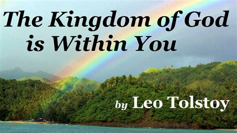 The Kingdom the kingdom of god is within you riksavisen