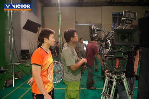 Raket Victor Liliyana Natsir the victor gather in the filming for