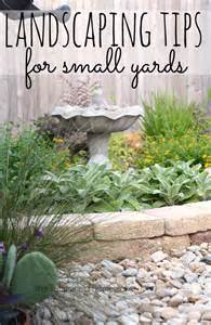 How To Start Landscaping Your Yard 25 Best Ideas About Small Yards On Pinterest Small