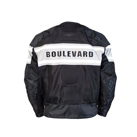 Suzuki Apparel Catalog Boulevard Mesh Jacket Black Babbitts Suzuki Partshouse