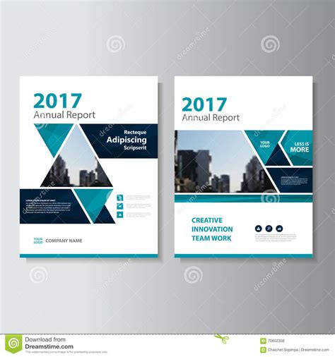 Abstract Triangle Geometric Brochure Flyer Design Layout Template Vector Illustration Presentation Flyer Template