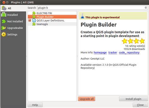 Digital Geography Template Builder Plugin
