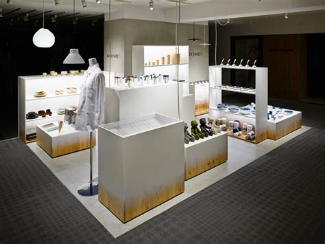 backyard store nendo designs backyard by n retail space for seibu sogo