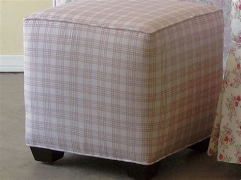 storage ottoman slipcover ottoman slip cover sure fit stretch pique oversized