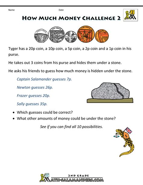 simple coin addition worksheets uk worksheets money and